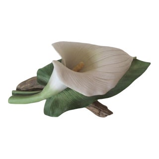 Vintage Calla Lily, Andrea by Sadek, 1985, #7251, Mint Condition For Sale