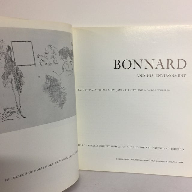 Bonnard & His Environment, Hardcover Book For Sale - Image 4 of 10