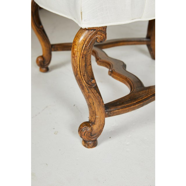 Pair of Italian Armchairs For Sale - Image 9 of 13