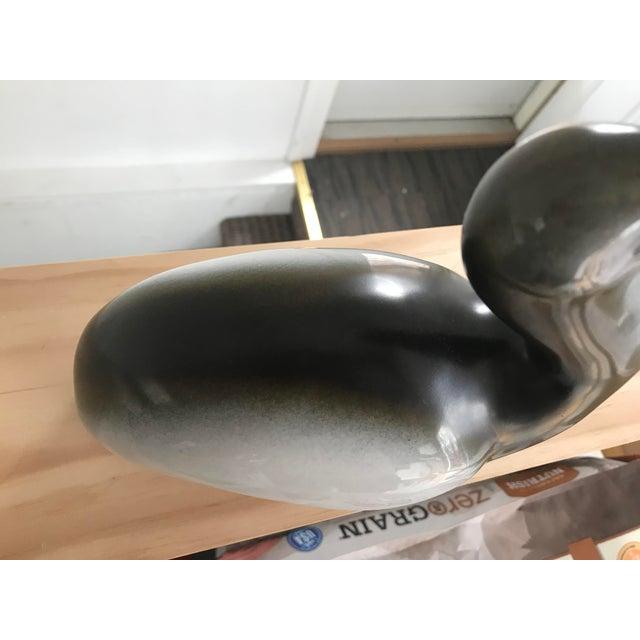 Gray Large Vintage Goebel Porcelain Pelican For Sale - Image 8 of 11