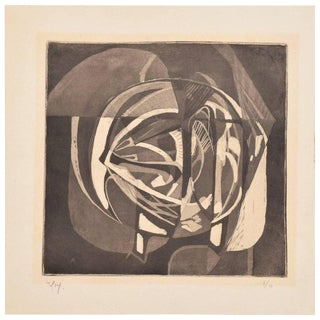 Rodolfo Nieto Lithograph Signed in Pencil Edition 7/10 For Sale