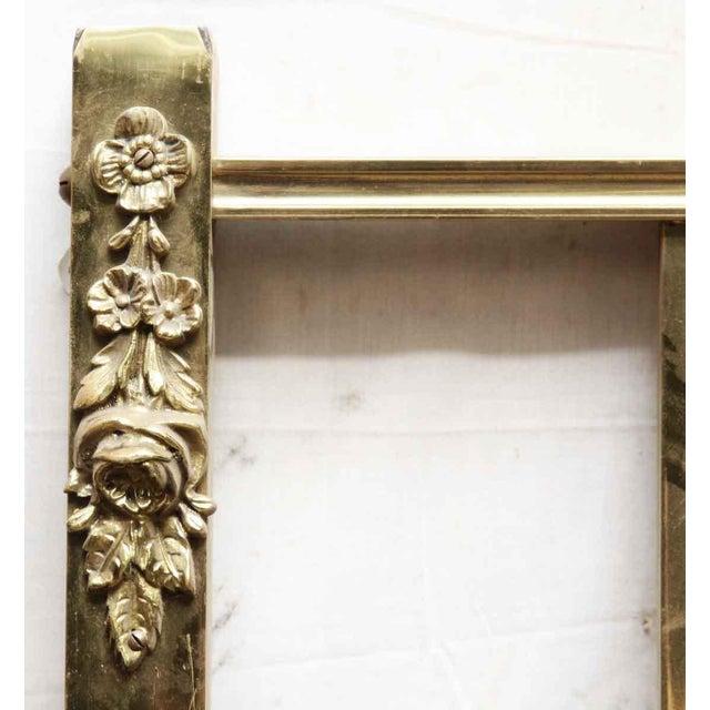 Brass Vintage Mid-Century Full Size Brass Bedframe For Sale - Image 7 of 10
