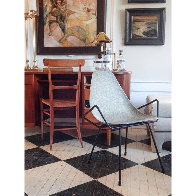 Unusual Sculptural Fiberglass Chair - Image 8 of 8
