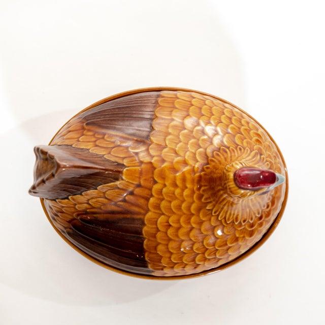 1950s Vintage Steuler Keramik Large Nesting Hen Casserole Covered Dish For Sale - Image 5 of 13
