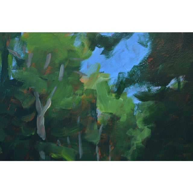 """Stephen Remick """"Gravel Road in Vermont"""" Contemporary 2010s Landscape Painting For Sale In Providence - Image 6 of 11"""