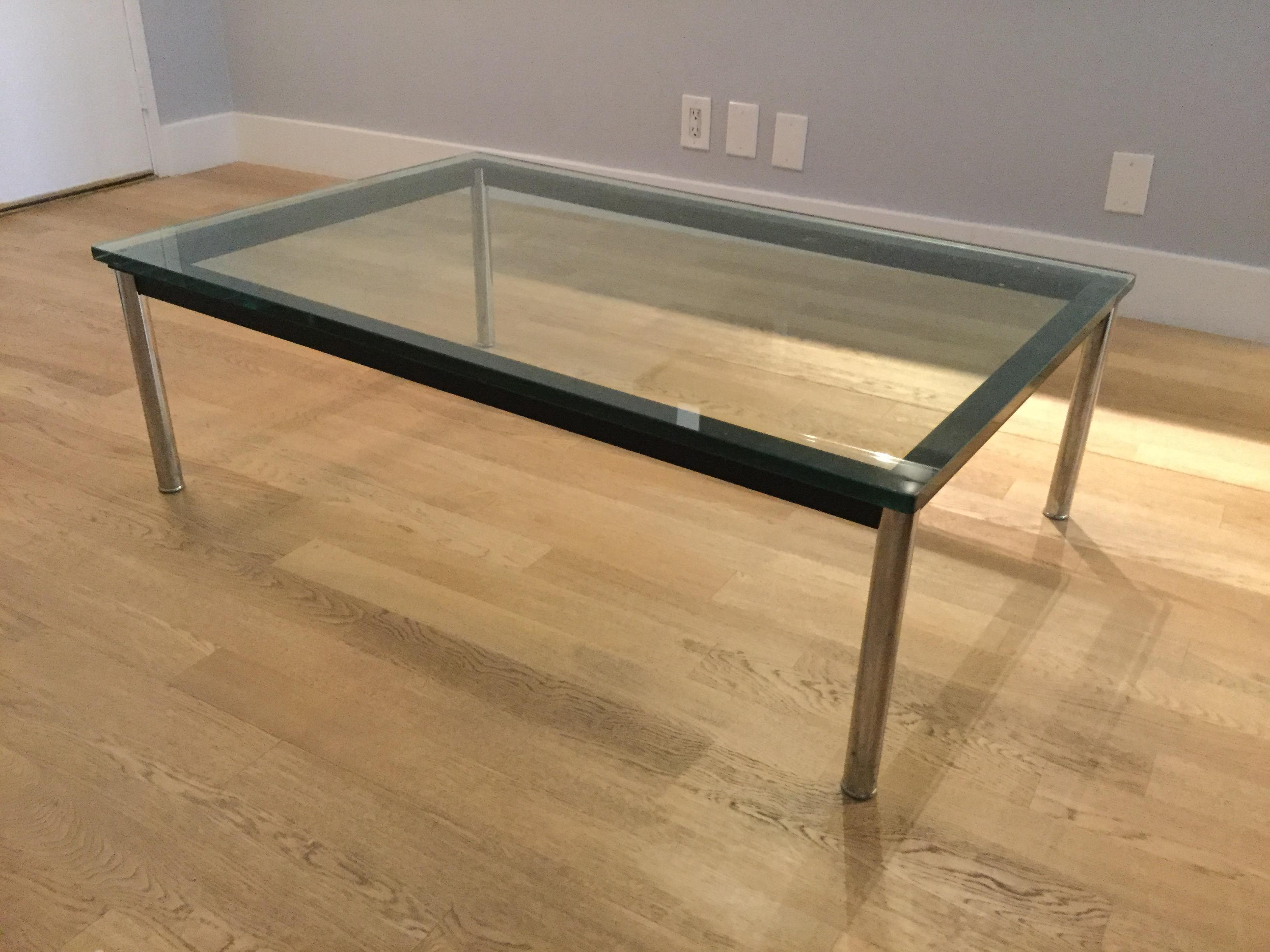 Le Corbusier Lc10 P Rectangular Coffee Table   Image 2 Of 6