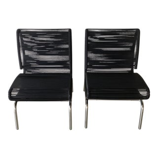 Italian Vintage Chairs - a Pair For Sale