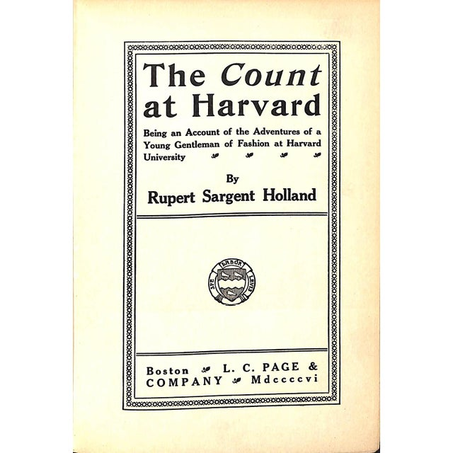 Traditional The Count at Harvard For Sale - Image 3 of 4