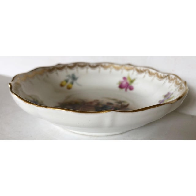 French Meissen Catchall For Sale - Image 3 of 4