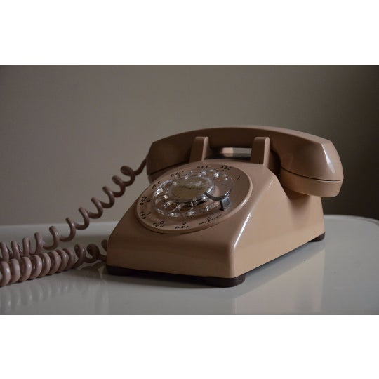 Vintage Cream Touch Tone Telephone - Image 2 of 6