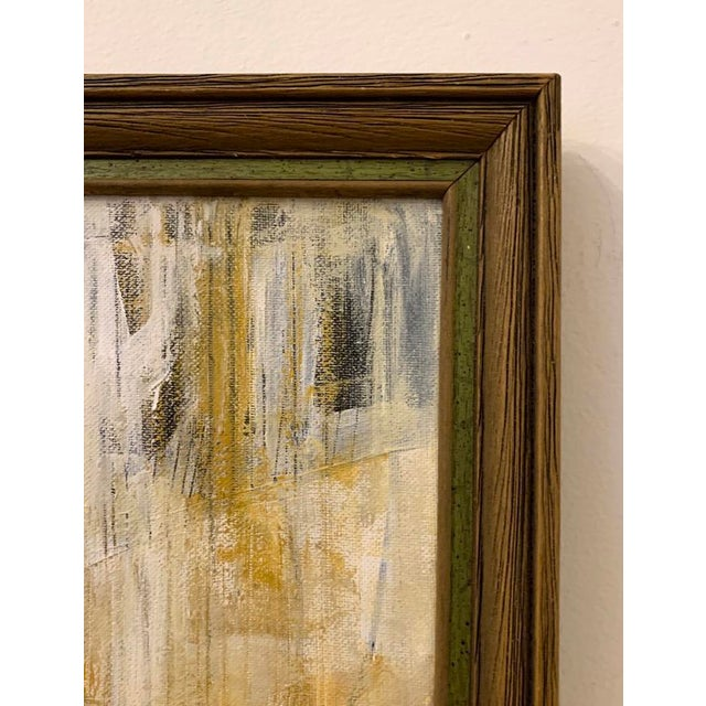 Abstract Original Abstract Mid-Century Inspired Painting, Framed For Sale - Image 3 of 5