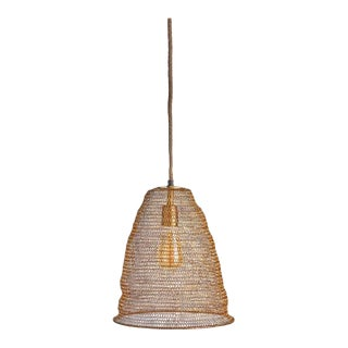 Kenneth Ludwig Chicago San Remo Mesh Pendant For Sale
