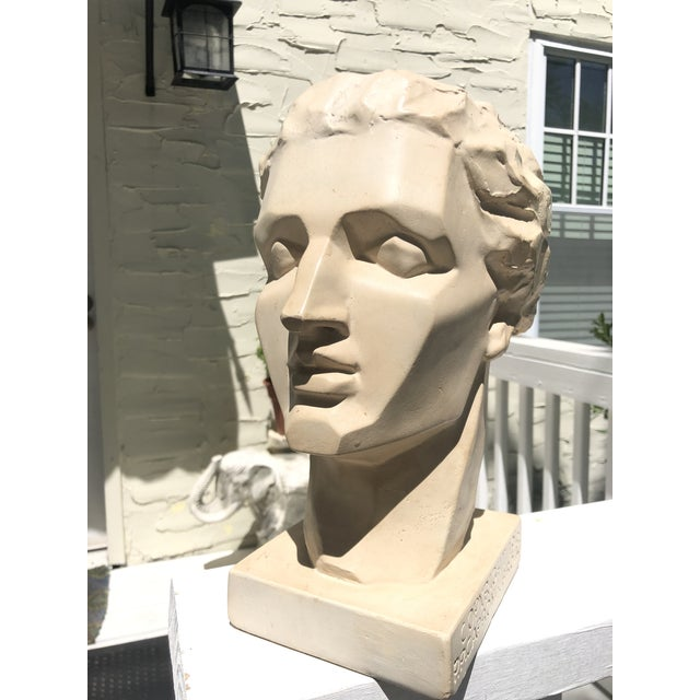 Caproni Brothers Mid 20th Century Vintage Caproni Brothers Plaster Sculpture For Sale - Image 4 of 7