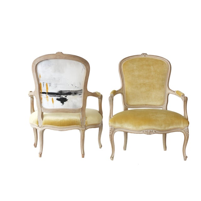 Pair of French Chairs For Sale - Image 4 of 4