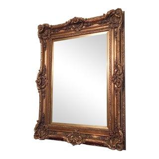 Baroque Large Giltwood Mirror