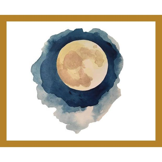 Realism Moon Series-Full Moon For Sale - Image 3 of 3