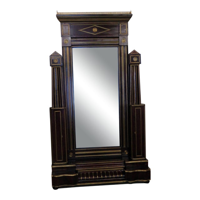 Antique Russian Cheval Mirror For Sale