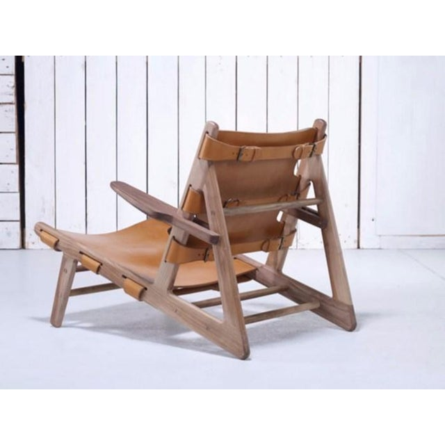 Borge Mogensen Inspired Hunting Chairs - a Pair For Sale - Image 9 of 9