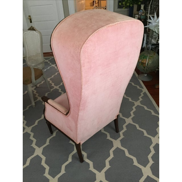 Vintage Pink French Canopy Chair - Image 5 of 7