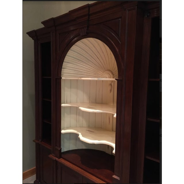 Harden Goddard Solid Cherry Library Cabinet For Sale - Image 6 of 7