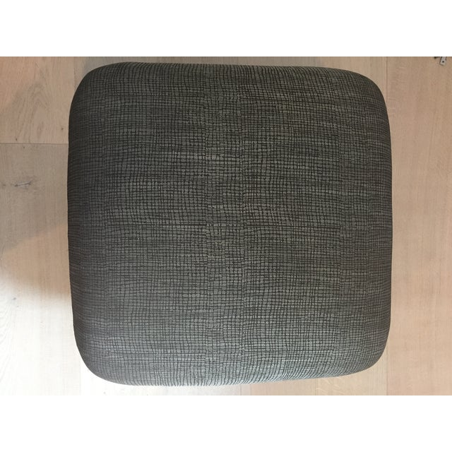 Pouf-Style Brown Ottomans - A Pair - Image 7 of 7