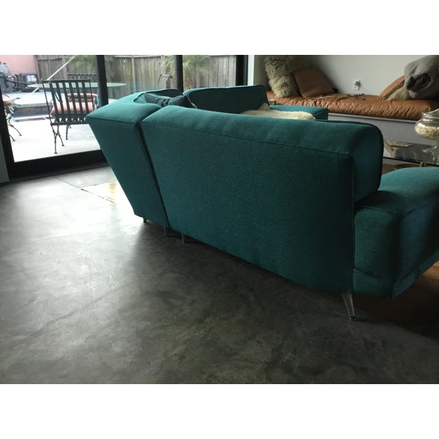 Mid Century Sectional Sofa For Sale - Image 9 of 10