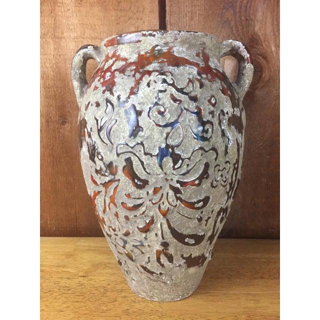 Boho Raised Glaze Vase - Image 2 of 9