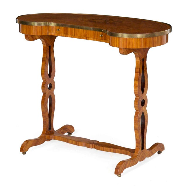 A very fine 19th century French vide poche, the table remains in pristine original condition throughout. The top is a...