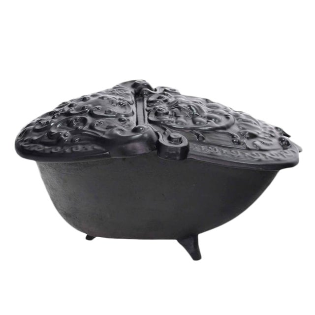 Cast Iron Coal Box For Sale