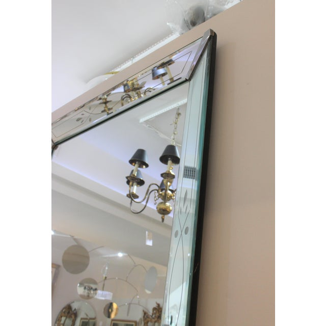 Vintage American Art Deco Mirror For Sale - Image 9 of 12