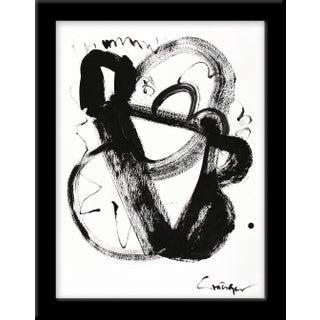 """""""Noir Et Blanc Nombre 3"""" Print by Lesley Grainger, 10"""" X 13"""" Preview"""