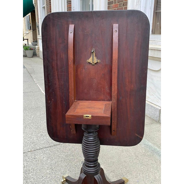 Wood Late 18th- Early 19th Century Mahogany Tilt Top Table For Sale - Image 7 of 10