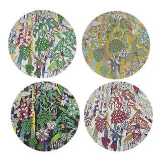 Sabi Jungle Coasters, Set of 4 For Sale