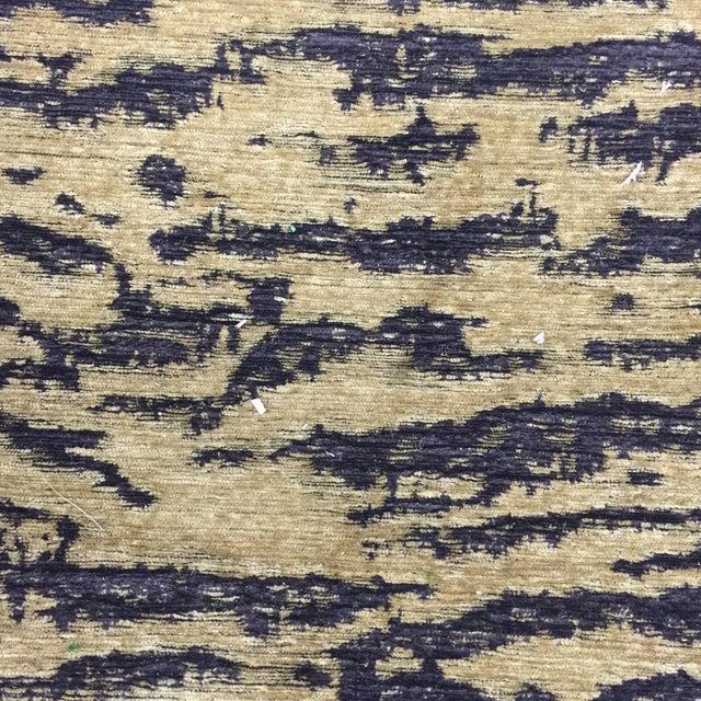 Schumacher Schumacher Fabric Folding Safari Chair For Sale - Image 4 of 7