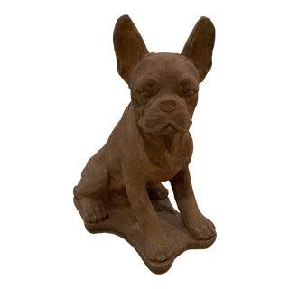 Concrete French Bulldog Statue For Sale