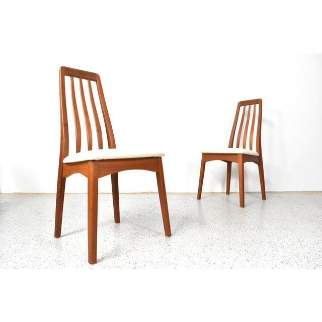 Benny Linden Teak Highback Dining Chairs - 6 - Image 3 of 11