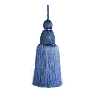 Navy & French Blue Tassel, Large For Sale