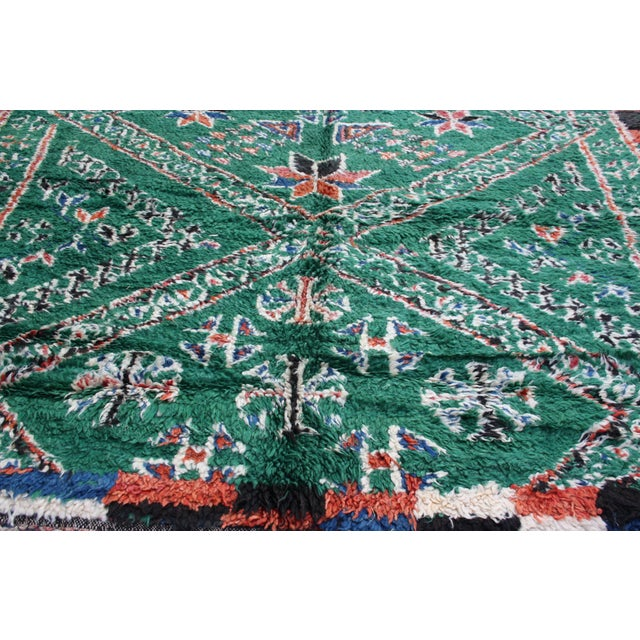 Moroccan Rug - 10'9'' X 6'4'' For Sale - Image 4 of 5