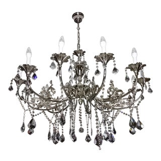 Royal Cut Teardrop Crystal Chandelier For Sale