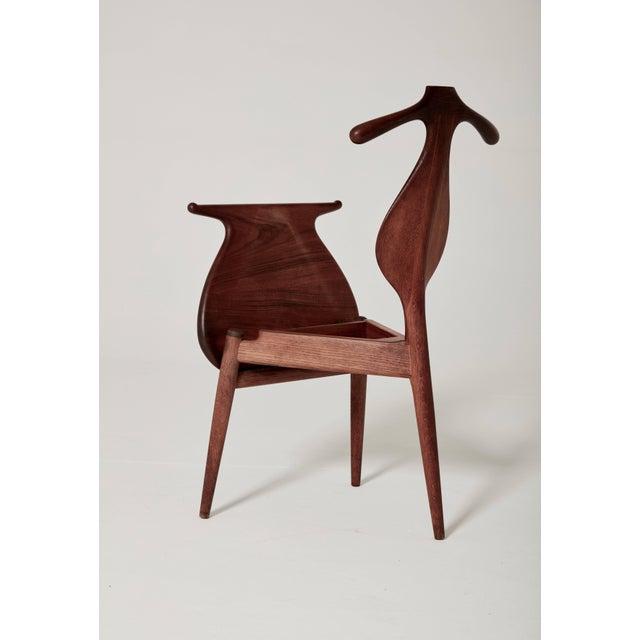 Hans Wegner Valet Chair, Made by Johannes Hansen, Denmark, 1950s-1960s For Sale - Image 6 of 11