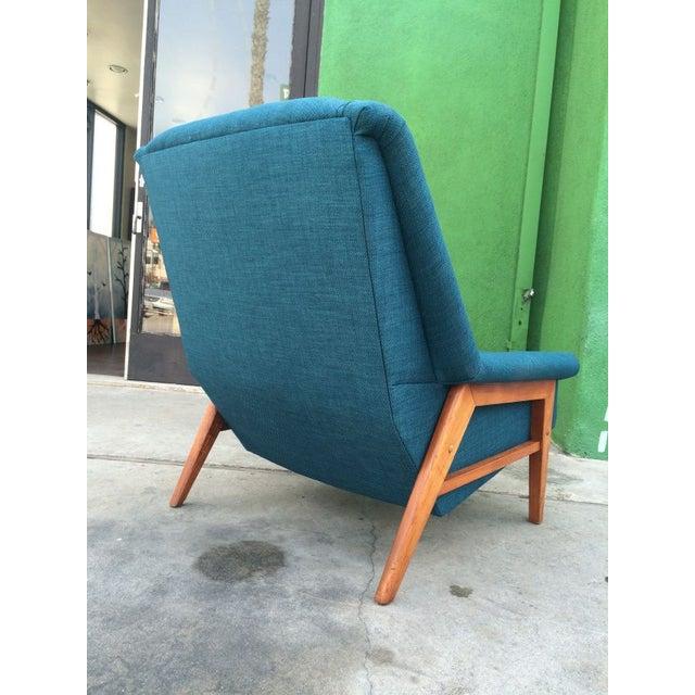 Danish Modern Dux Mid-Century Modern Teak Lounge Chair For Sale - Image 3 of 3