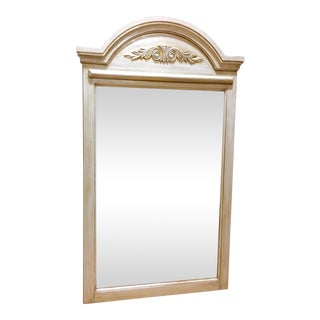 Gray Framed Rustic Mirror For Sale