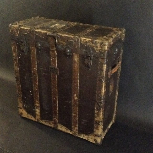19th Century Trunk by h.c. Faber and Son Co. For Sale - Image 10 of 10