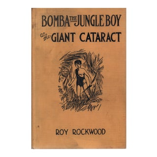 "1926 ""Bomba the Jungle Boy at the Giant Cataract: or Chief Nascanora and His Captives"" Collectible Book For Sale"