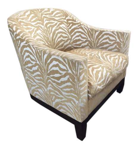 A. Rudin Zebra Print Club Chairs - a Pair  sc 1 st  Chairish : a rudin chair - Cheerinfomania.Com