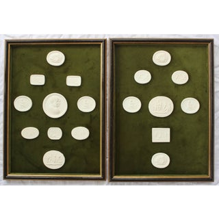Pair of Framed Collection of Intaglios Preview