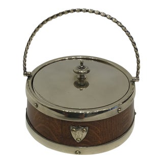 Early 20th Century English Butter Dish For Sale