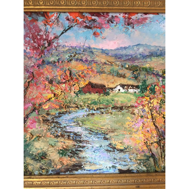 Allison Kibbe Landscape Oil Painting For Sale - Image 4 of 8