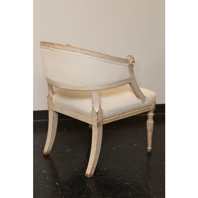 Pair of 19th Century Gustavian Barrel Back Chairs - Image 9 of 10