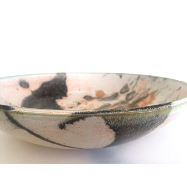 Mid 20th Century Vintage Mid Century Modern Studio Pottery Abstract Expressionist Signed Ceramic Bowl For Sale - Image 5 of 13